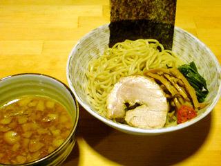 煮干し醤油つけ麺(昼メニュー)