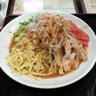 棒々鶏冷麺セット