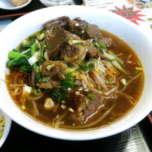 牛肉麺セット