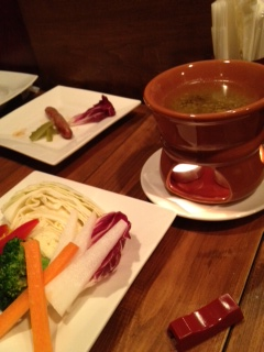 彩り野菜のバーニャカウダ