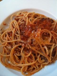 自家製ボローニャ風ミートソーススパゲッティー