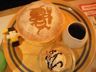バジーちゃんパンケーキ