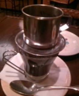 ホットベトナムコーヒー