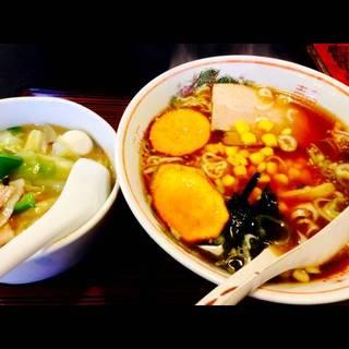 半中華丼・川越ラーメンセット