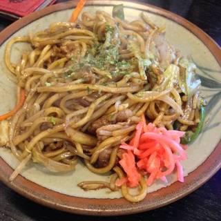 元祖 太麺焼きそば