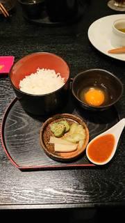 卵かけご飯withうに醤油