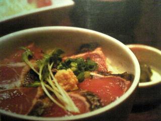 春かつおと新玉ねぎのタタキ丼