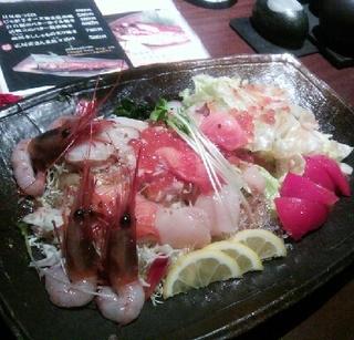 海鮮たっぷり丸海屋サラダ