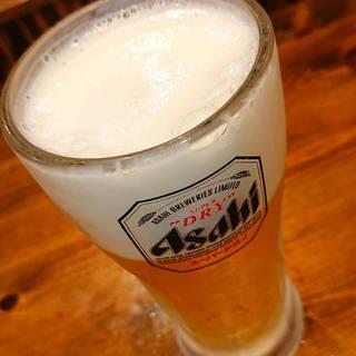 生ビール アサヒスーパードライ ジョッキ