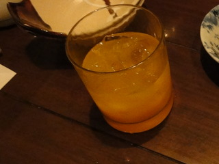 まるごとみかん酒(ロック)