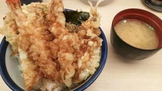 えびえび桜海老天丼