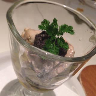 広島産牡蠣のオリーブオイルマリネ