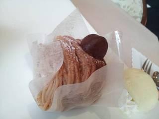 ケーキセット(モンブラン)