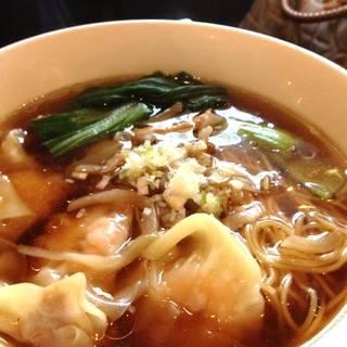 雲呑湯麺 ワンタン入りスープ麺