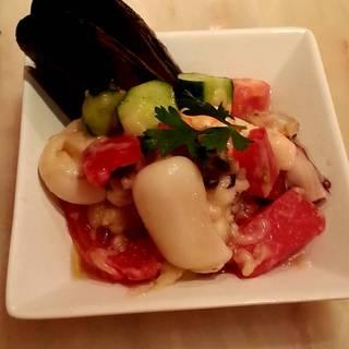 魚介のトマトマリネサラダ