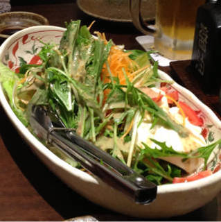 海鮮すなおやサラダ