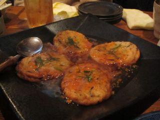 豆腐と魚肉のハンバーグ