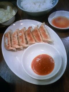 塩麹オクラ餃子