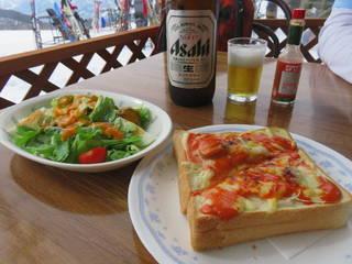 ピザ風トースト