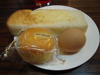 トースト+玉子+カステラ