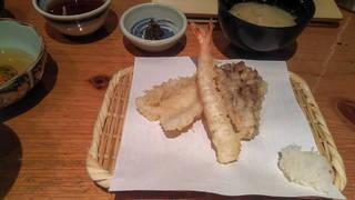 天ぷら定食松