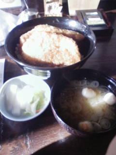 並盛かつ丼(味噌汁付)