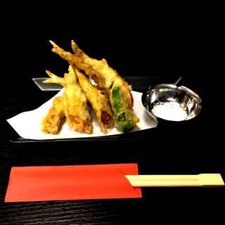 天然鮎の天ぷら