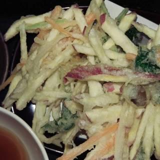 秋野菜のかき揚げ