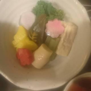 春野菜の炊き合わせ