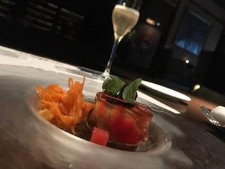 カナダ産オマール海老のトマトソース バジルのタリアテッレ
