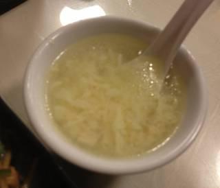 ランチについてくるスープ