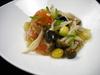 里芋と海老しんじょうの揚げ出し野菜あんかけ