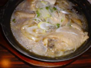 骨付き鶏のとろとろ煮込みサムゲタン
