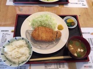 宮崎産ロースかつ定食230g
