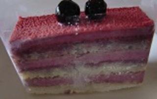 カシスケーキ