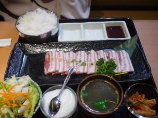 豚カルビ焼きセット