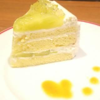 マスクメロンのショートケーキ