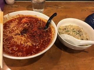 真 担々麺+ミニチャーハンセット