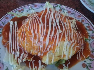 ふわふわ卵のチーズマヨ天津飯
