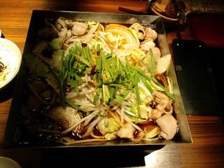 ホルすき鍋