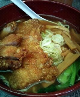 ボリューム排骨麺