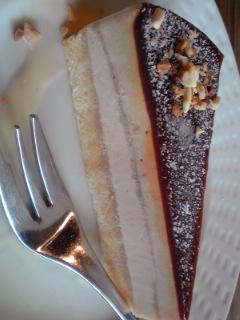 キャラメルナッツ アイスケーキ