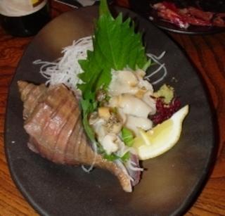 刺身つぶ貝