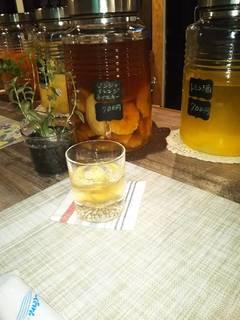 生姜とオレンジのウイスキー