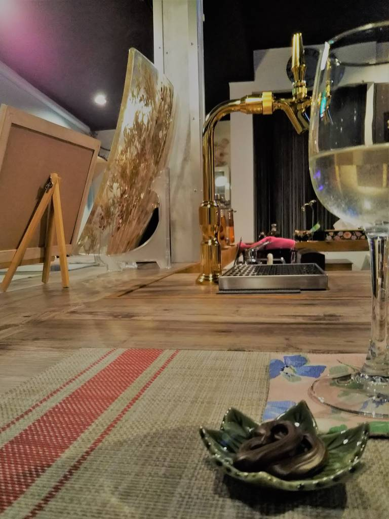 白ワイン & チョコ