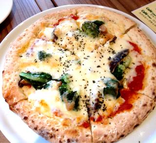 東京野菜たっぷりピザ