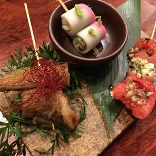 前菜串4種盛り