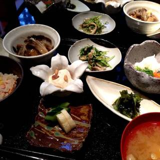 秋の味覚御膳(限定30食)