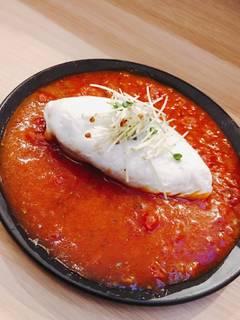 豆腐とムネ肉の卵白巻き