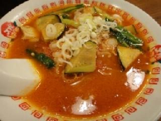 太陽のトマト麺ナス